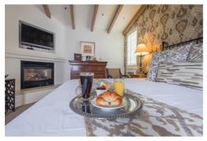 carmel hotel breakfast cypress inn carmel by the sea. Black Bedroom Furniture Sets. Home Design Ideas