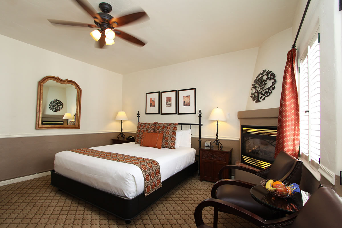 Select a King room at Cypress Inn