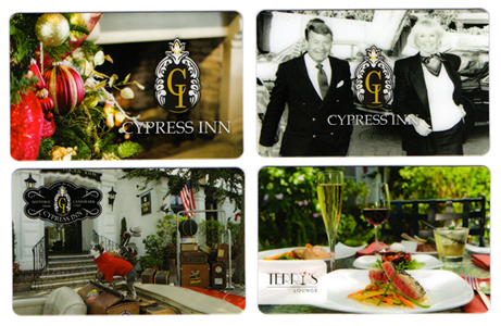 cypress inn and restaurant carmel ca hotel gift cards