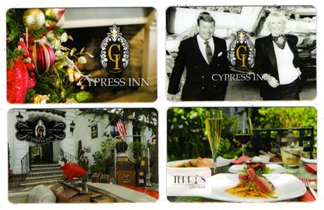 cypress inn and restaurant carmel ca hotel gift cards