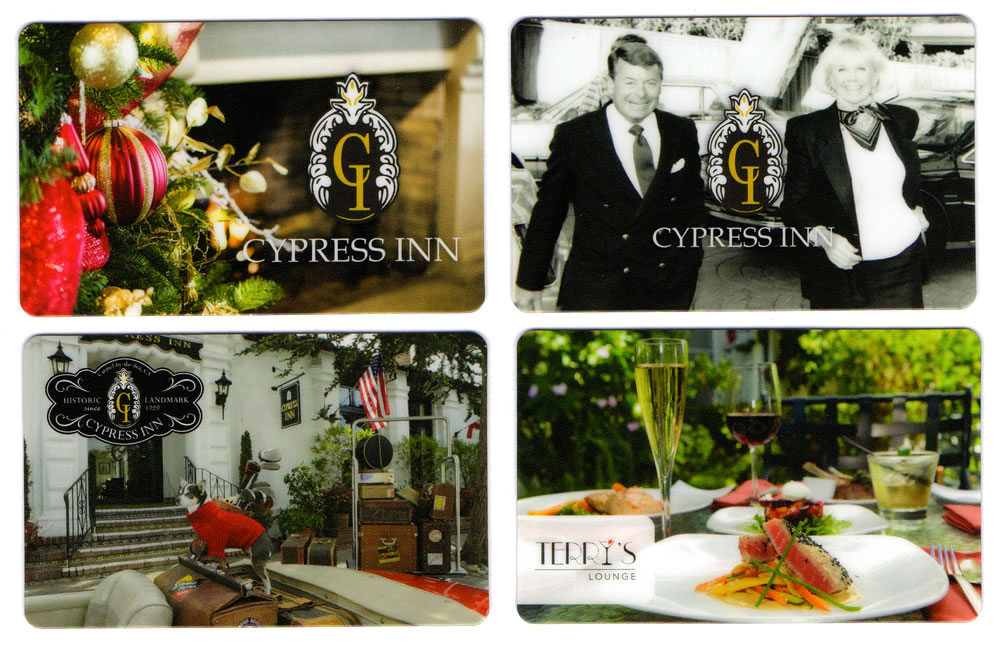 cypress inn gift cards carmel by the sea hotel and restaurant doris day