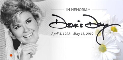 doris day memorial photograph